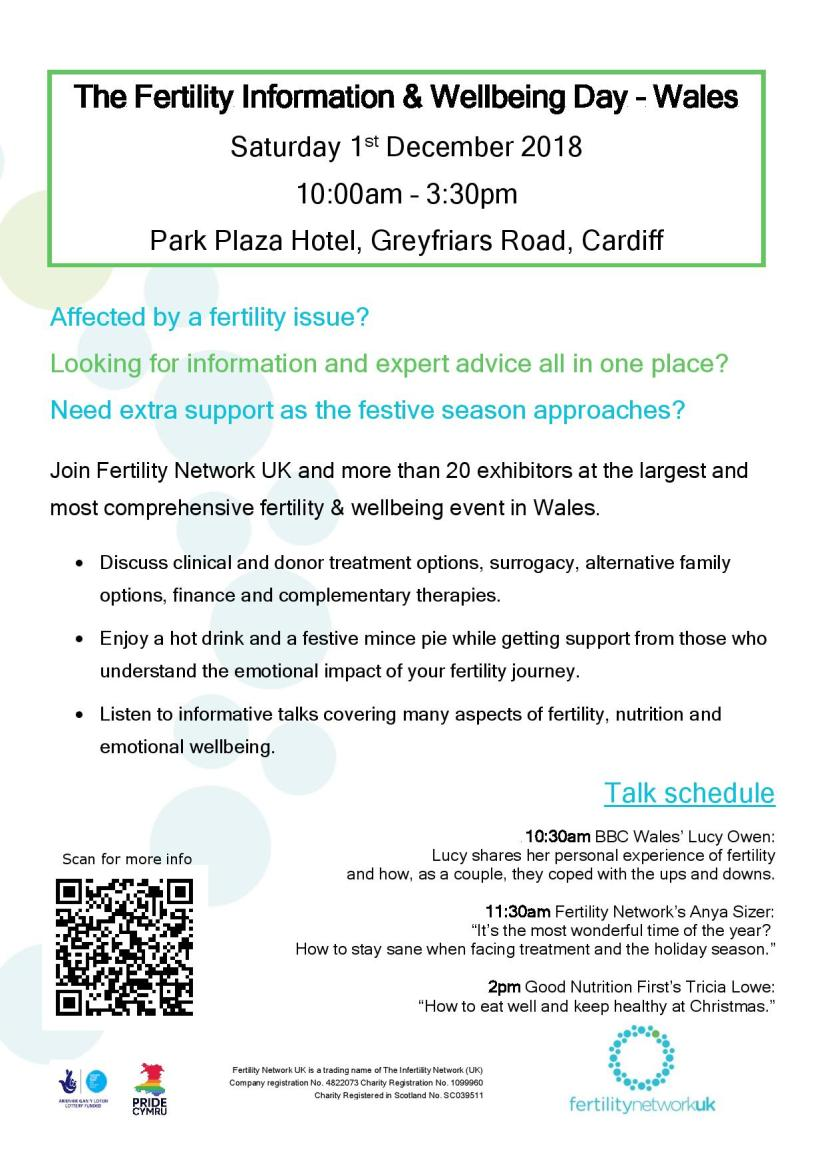 Fertility Information and Wellbeing Day - Wales..